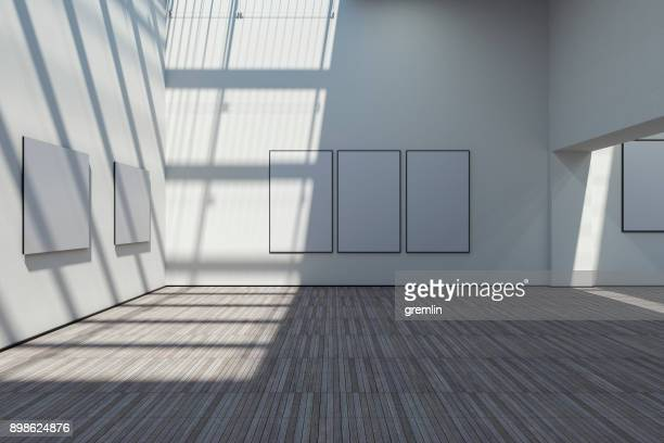 Empty art gallery