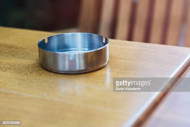 Empty ashtray