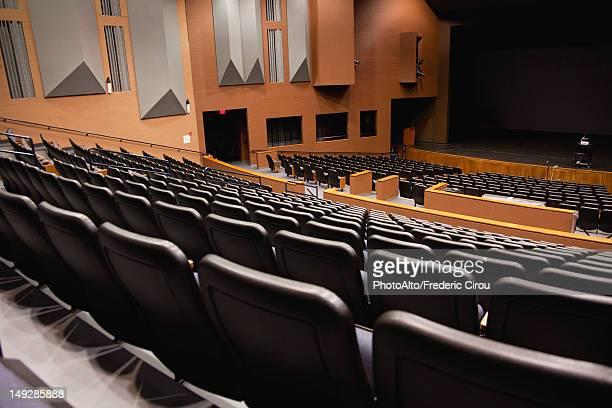 empty auditorium - auditorium stock pictures, royalty-free photos & images