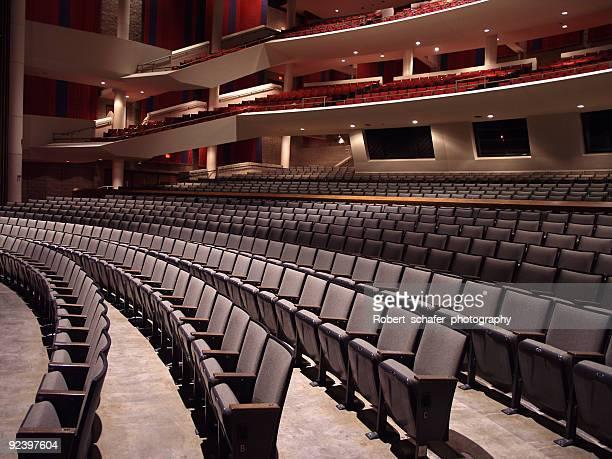 Empty Auditorium - Side View