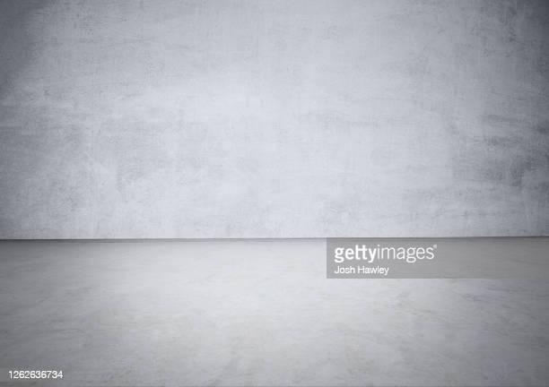 empty background, concrete texture - grau stock-fotos und bilder