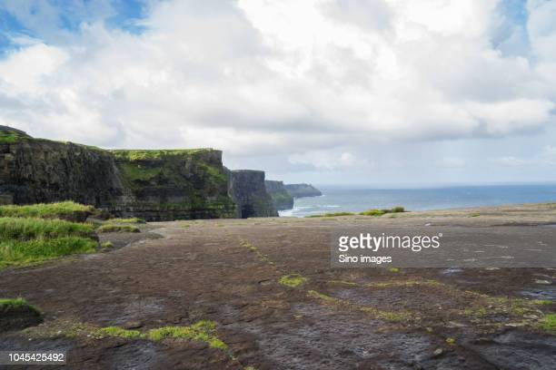 empty beach during daytime, ireland - image stock pictures, royalty-free photos & images