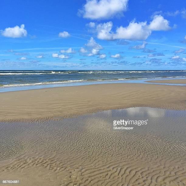 Empty beach, Fanoe Bad, Fanoe, Denmark
