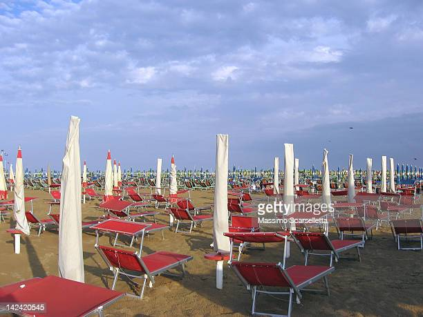empty beach - adriatic sea stock pictures, royalty-free photos & images