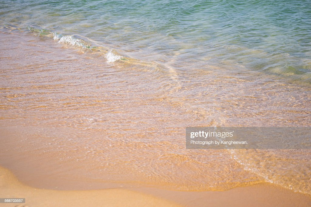 Empty Beach : Stock Photo