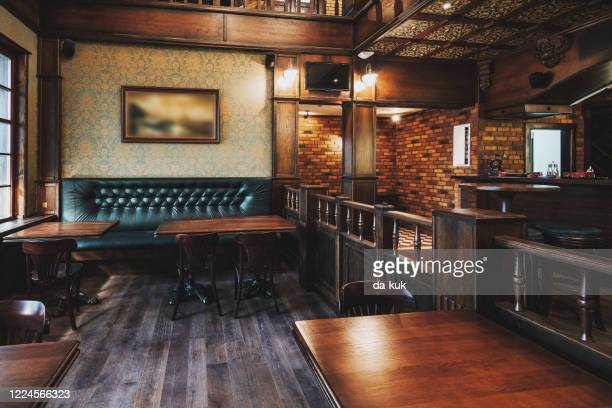 empty beer restaurant interior - general view stock pictures, royalty-free photos & images