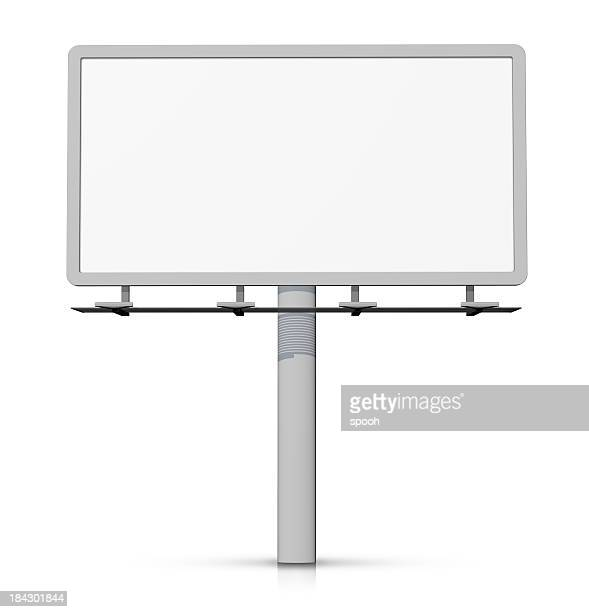 Empty billboard - easy to cut out.
