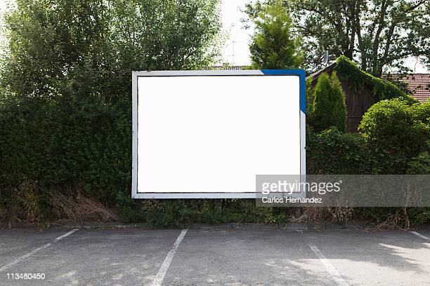 empty billboard - plakatwand stock-fotos und bilder