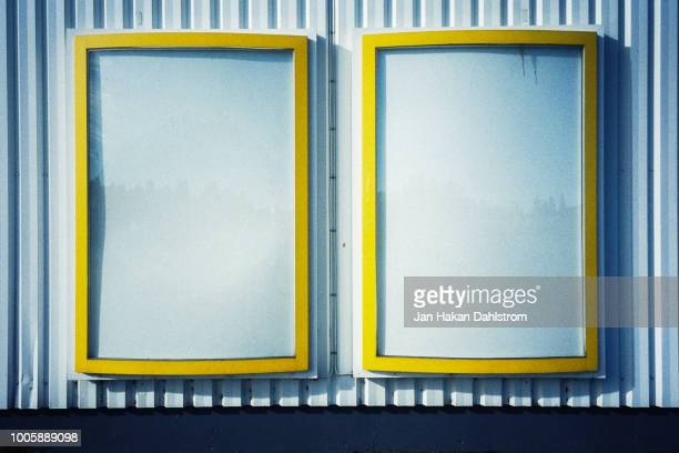 Empty billboards