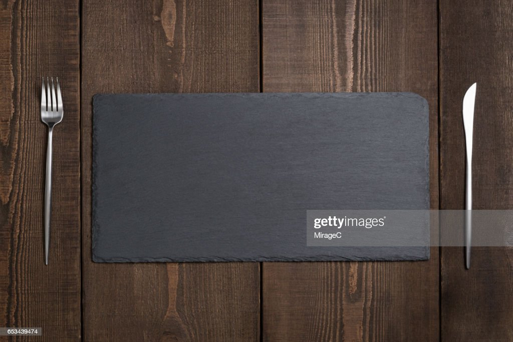 empty black stone tray plate stock photo getty images