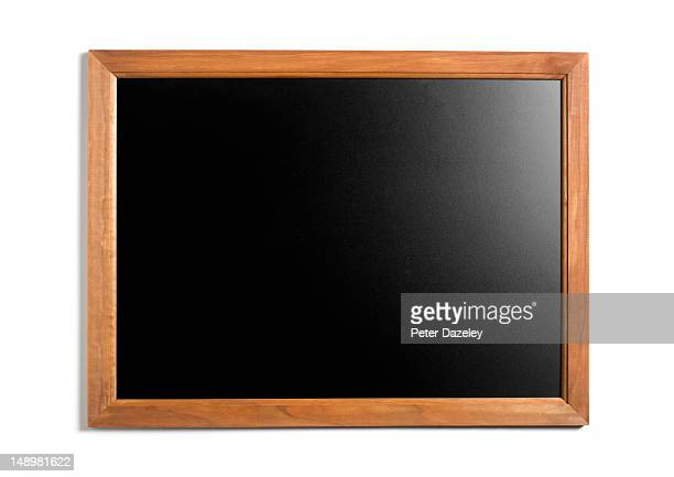 empty blackboard - blackboard stock pictures, royalty-free photos & images