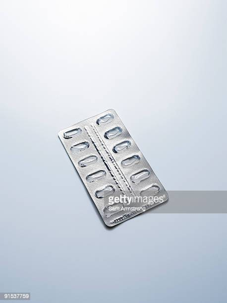 empty blister pack - blister pack stock pictures, royalty-free photos & images
