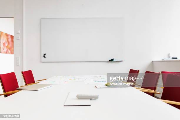 empty boardroom - board room stock pictures, royalty-free photos & images