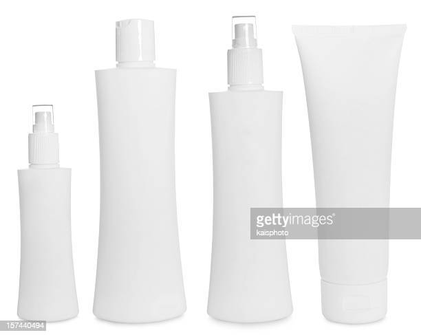 Empty bottles for hair care products