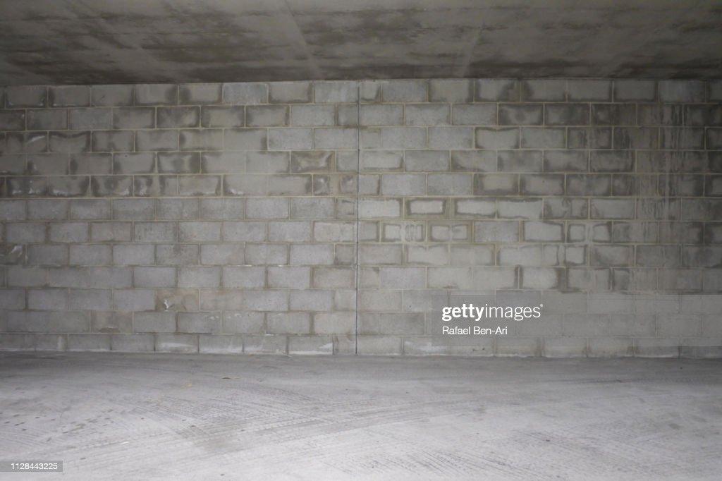 Empty Brick Wall Background : Stock Photo