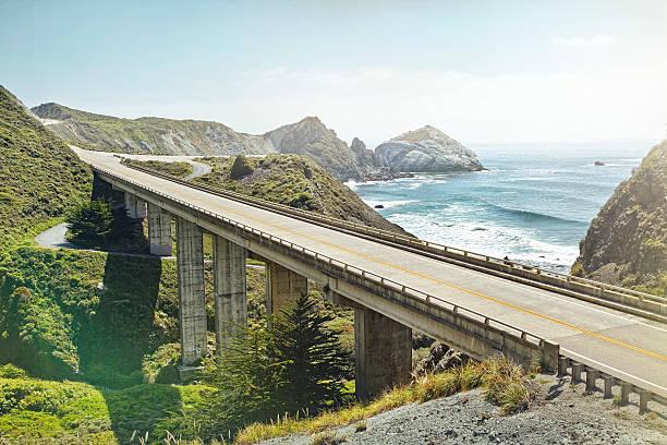 Empty Bridge Overlooking The Sea Wall Art