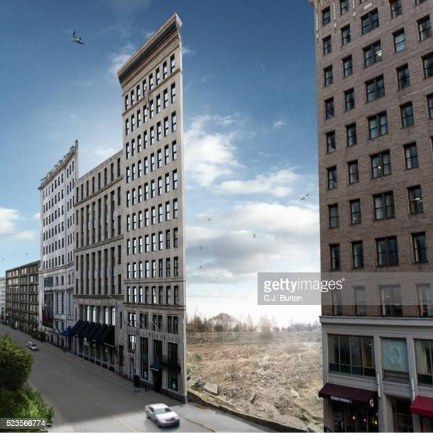 empty buildings - fake stock pictures, royalty-free photos & images