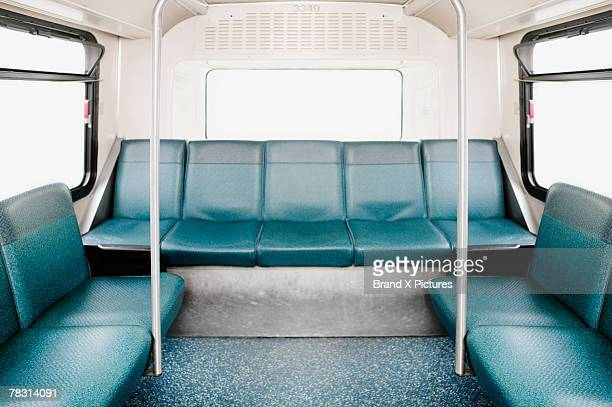 empty bus - seat stock pictures, royalty-free photos & images