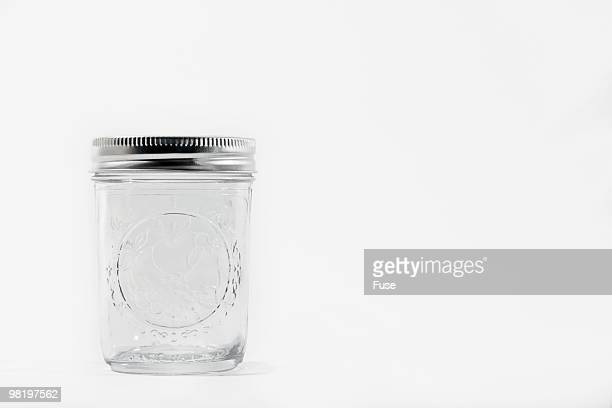 Empty canning jar
