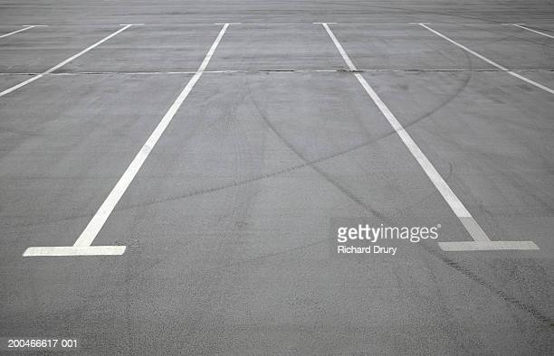 empty car park - richard drury stock pictures, royalty-free photos & images