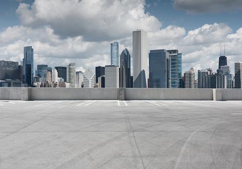 Empty car park - gettyimageskorea