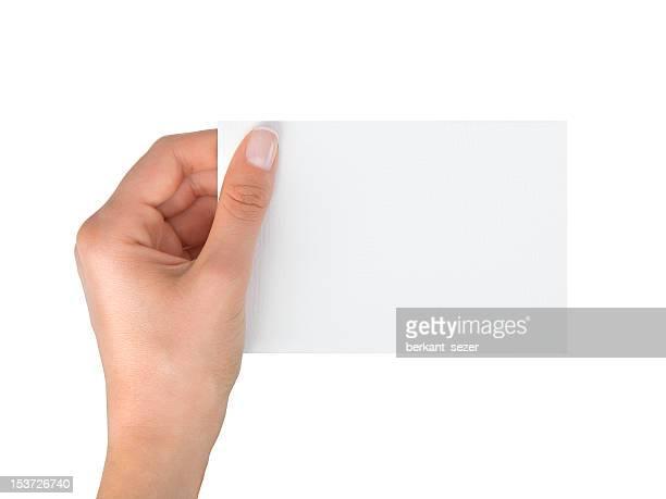 Tarjeta de vacío