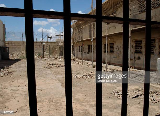 Empty cells are shown here April 17 2003 inside the Abu Ghraib Prison 10 km west of Baghdad Iraq After years of rumors of atrocities said to have...