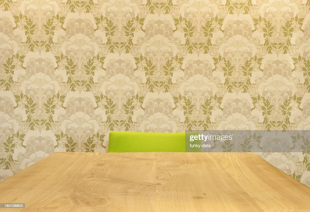 Empty chair on the other side : Stock Photo