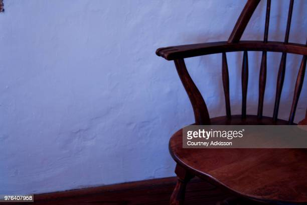 empty chair - rocking chair stock photos and pictures