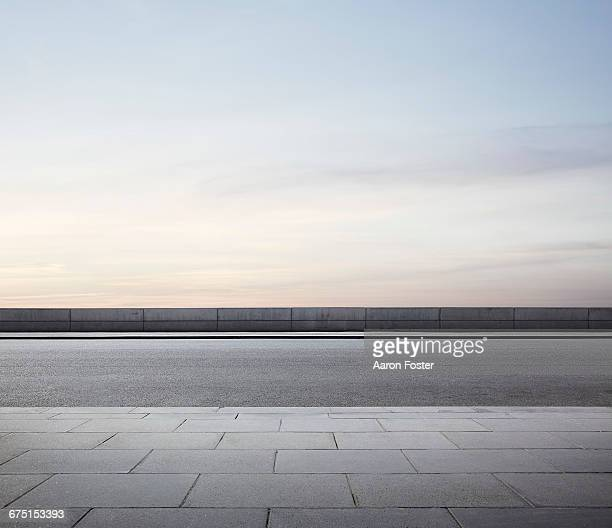 empty city street - pavement stock pictures, royalty-free photos & images