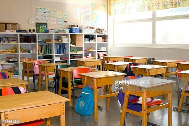 Vazia sala de aulas