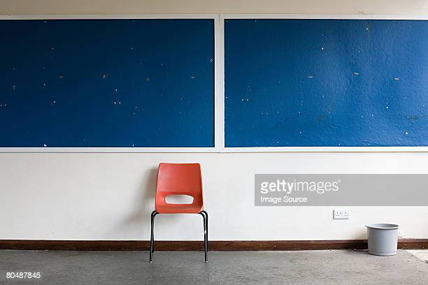empty classroom - bulletin board stock pictures, royalty-free photos & images