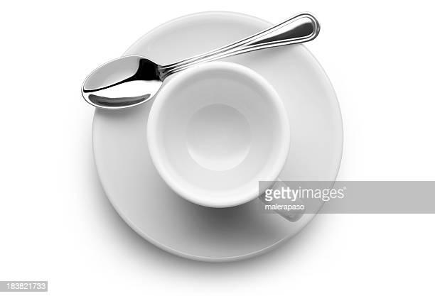 空のコーヒーカップ