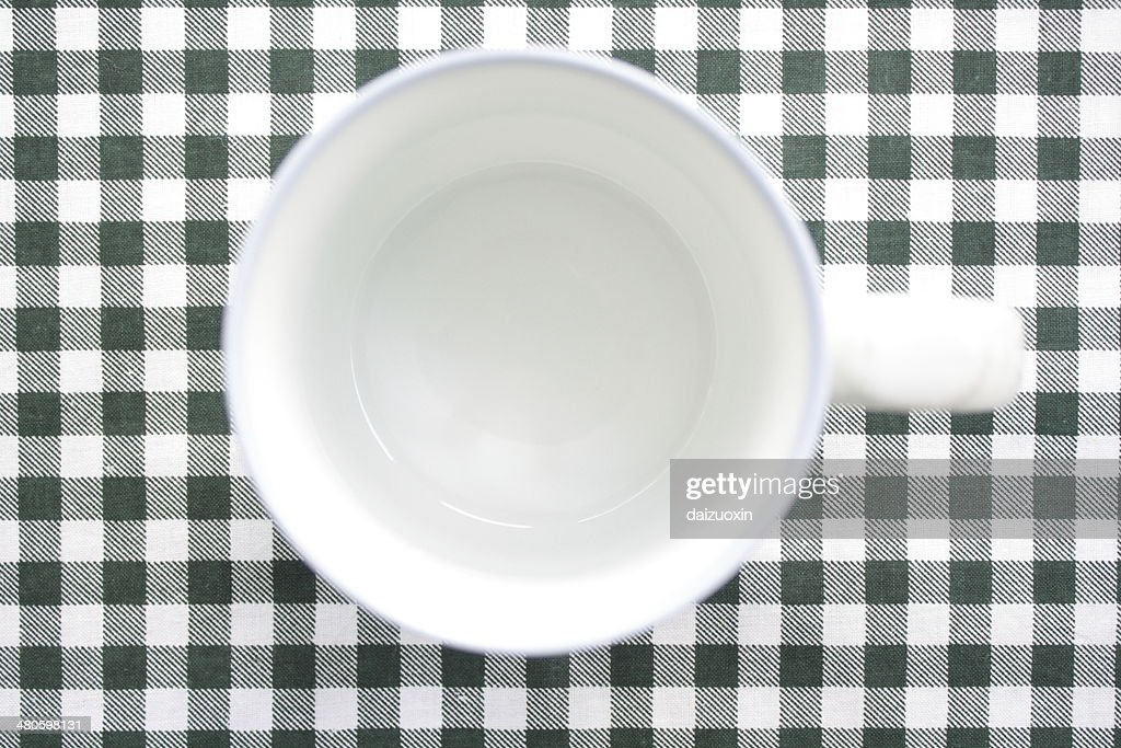 Empty coffee cup : Stock Photo