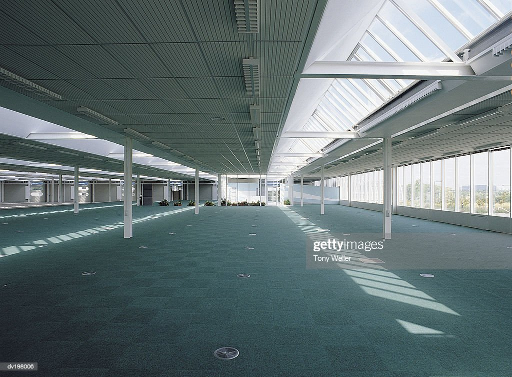 Empty commercial office space : Stock Photo