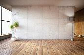 Empty Concrete Wall