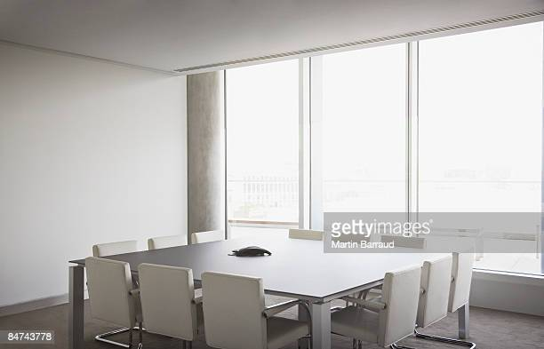 empty conference room in modern office - board room stock pictures, royalty-free photos & images