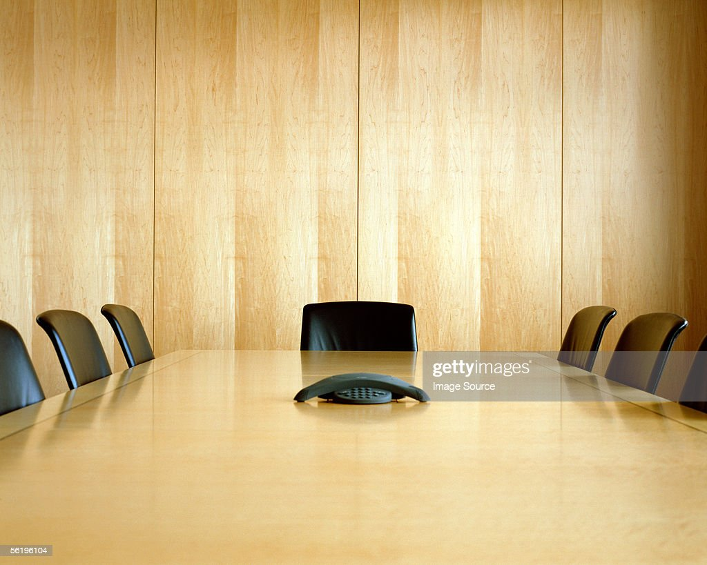 Empty conference room : Stock-Foto
