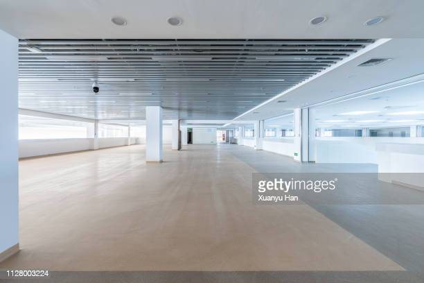 empty contemporary interior background - open plan stock pictures, royalty-free photos & images