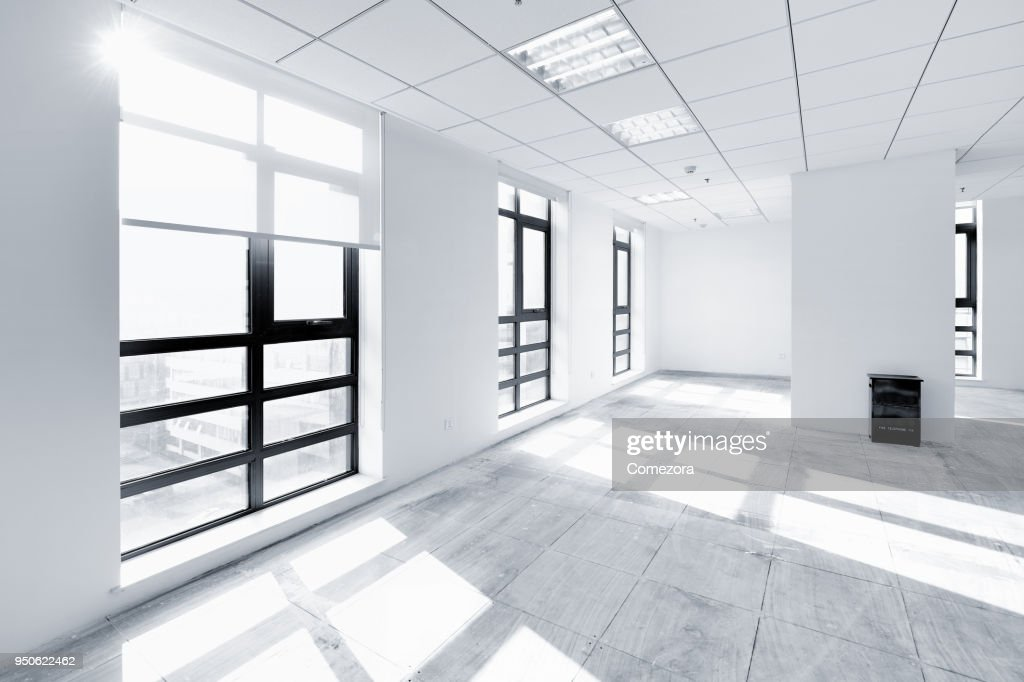 Empty Contemporary Interior Background : Stock Photo