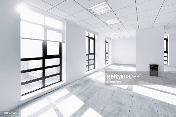 empty contemporary interior background - domestic room stock pictures, royalty-free photos & images