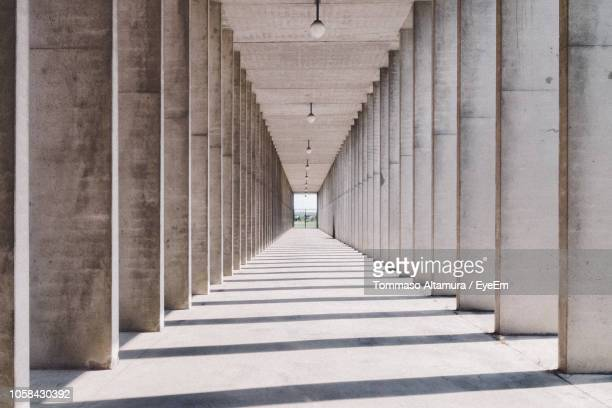 empty corridor in building - modena stock pictures, royalty-free photos & images