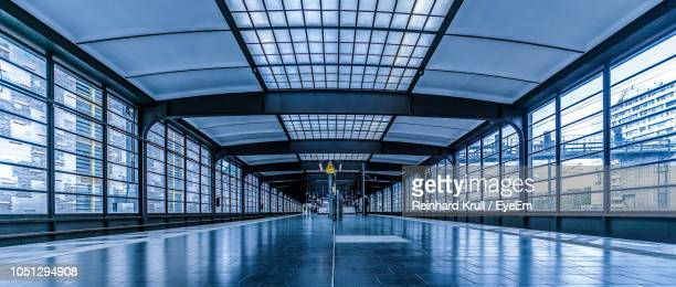empty corridor of modern building - berlin zoo stock pictures, royalty-free photos & images