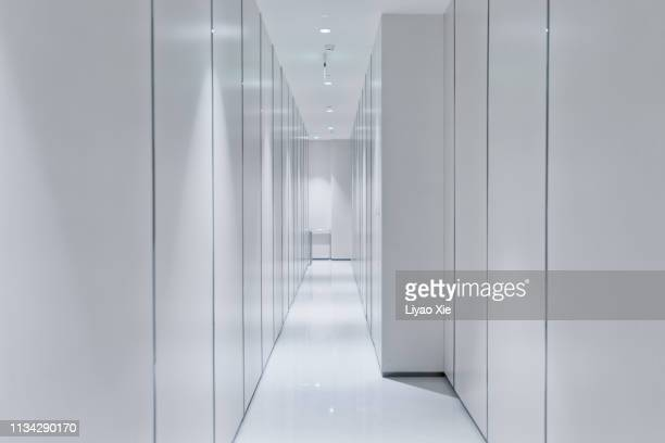 empty corridor - narrow stock pictures, royalty-free photos & images