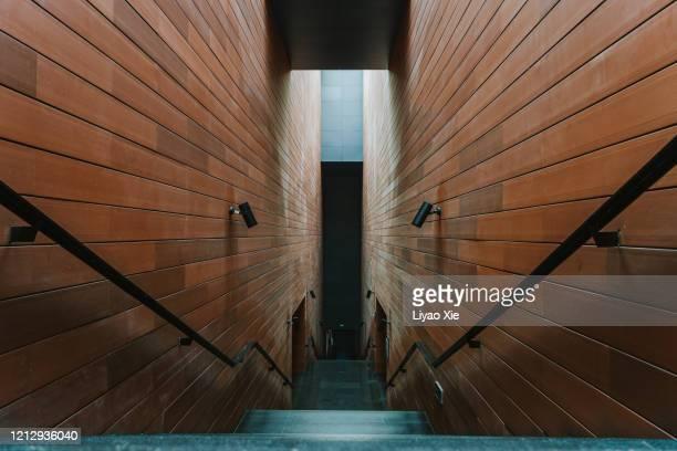 empty corridor - liyao xie stock-fotos und bilder