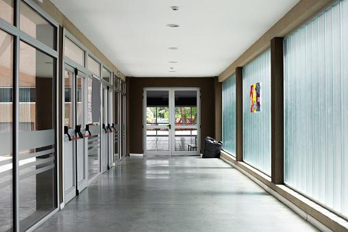Empty corridor - gettyimageskorea