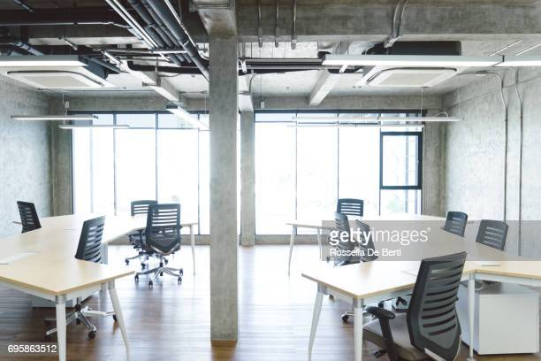 Empty coworking space