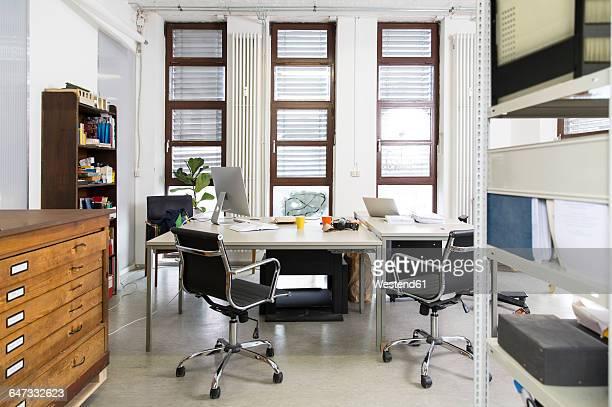 Empty creative office