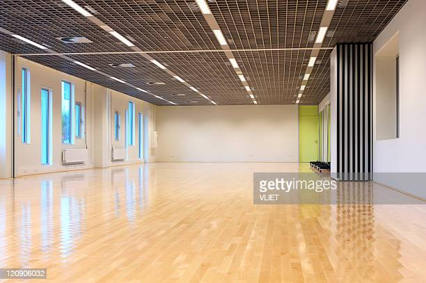Empty dance studio