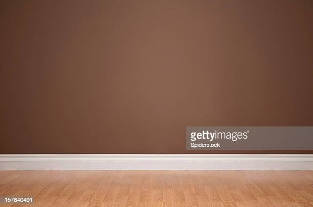empty domestic room - wainscoting stock photos and pictures